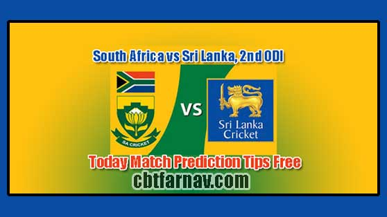 SL vs RSA 2nd ODI Today Match Prediction Cricket Win Tips
