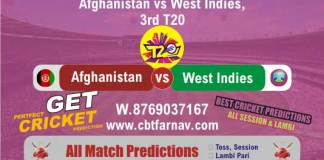 WI vs AFGH Free cricket match prediction Reports Cricket Betting Tips