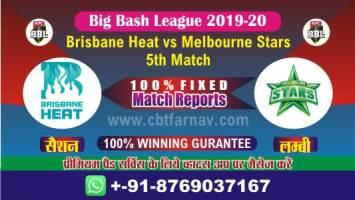 BBL T20 Star vs Brisbane 5th Match Betting Tips Prediction Reports CBTF