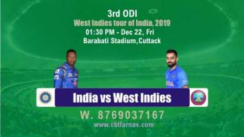 Ind vs Wi 3rd ODI Match Betting Tips Match Prediction Reports Toss