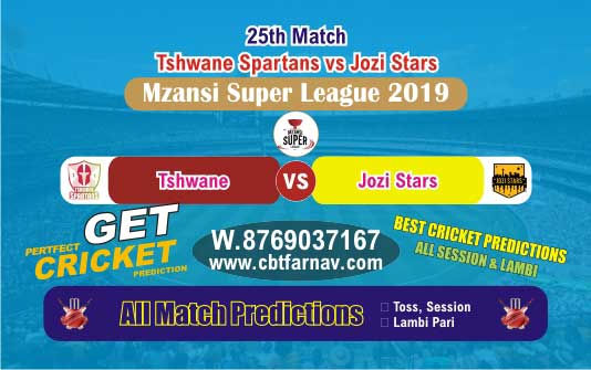 Jozi vs Spartans 25th Match Mzansi Betting Tips & Match Reports