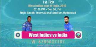 WI vs Ind 1st Match T20 Betting Tips & Match Prediction Reports - CBTF