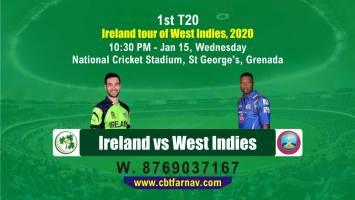 cbtf today match prediction ire vs wi