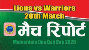 ODI Match Prediction Warriors vs Lions 20th Betting Tips Toss Fancy