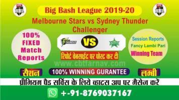 Today Match Prediction Star vs Thunder Challenger Big Bash Betting Tips