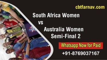 South Africa Women vs Australia Women Womens WC Semi Final 2 T20
