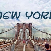 Cowgirl, seahorse & Brooklyn Bridge...