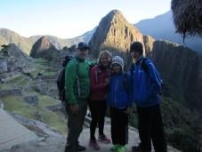 Good Morning Machu Picchu!