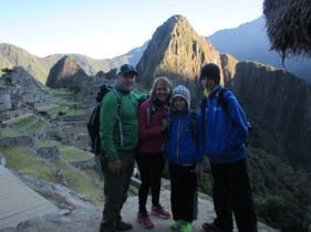 Good Morning Machu Picchu!