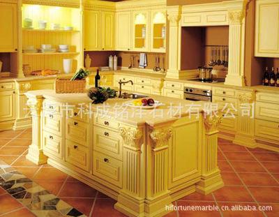 majestic kitchen cabinets 6 foot island 黑色大理石 大理石厨柜异型大理石造型granite countertop 阿里巴巴 大理石厨柜台面板异型大理石造型granite