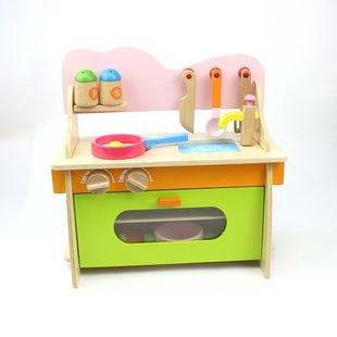 wood kitchen playsets grill top 木制厨房玩具图片 海量高清木制厨房玩具图片大全 阿里巴巴 木制厨房套装灶台玩具木制过家家儿童做饭厨房