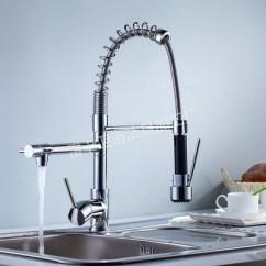 Motion Faucet Kitchen Cabinet Boxes Only 厨房水龙头 厂家大批量供应单把镀铬弹簧厨房水龙头抽拉水龙头水龙头批发