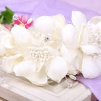 Women Wedding Beige Flower Bride Melbourne Cup Races Dance ...