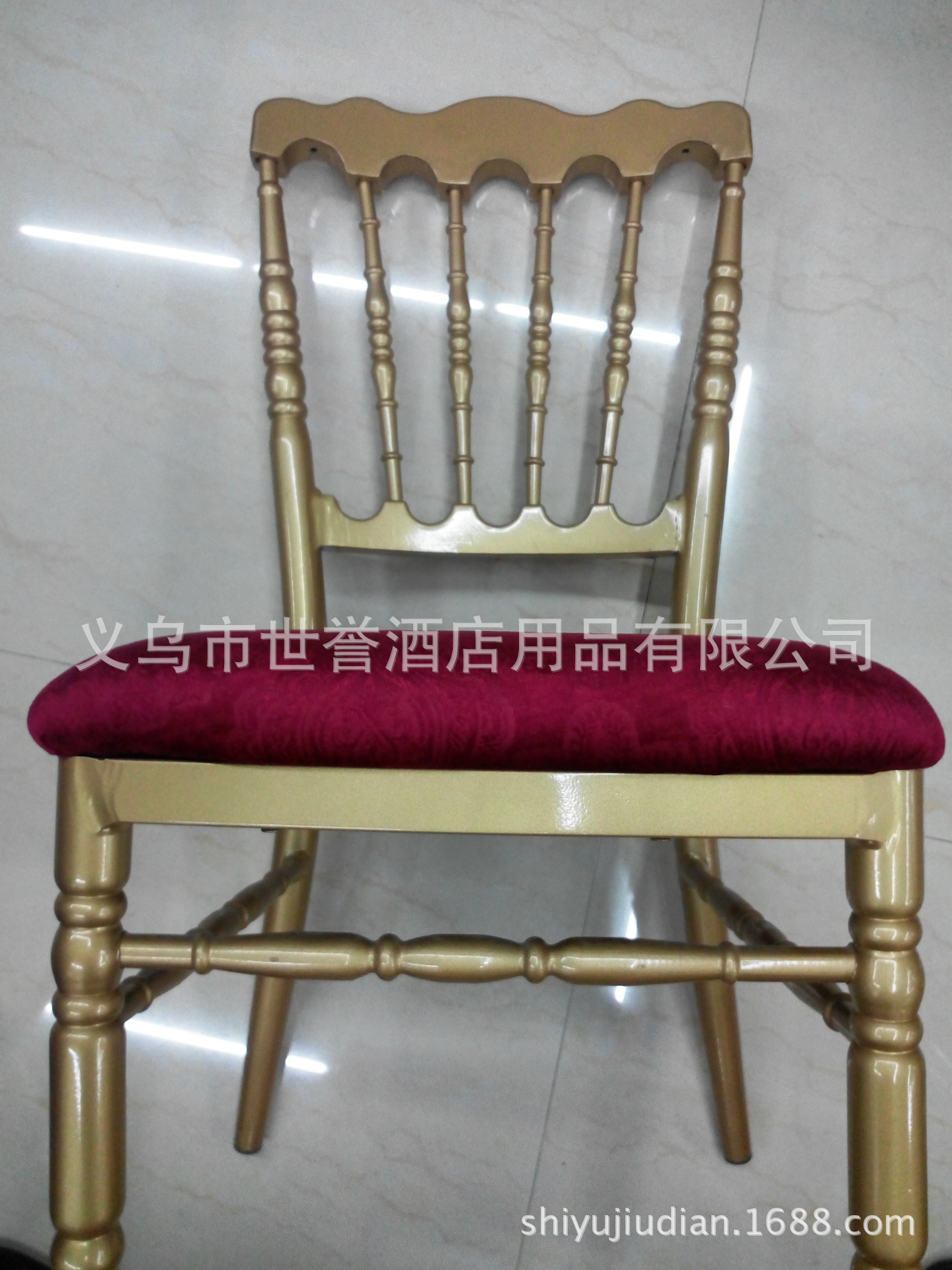 bamboo folding chairs wedding chair legs wood supply foreign trade aluminum alloy crown castle