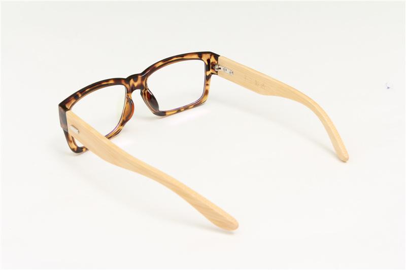 ▽100% hecho a mano de bambú piernas espejo llano de la vendimia ojo ...
