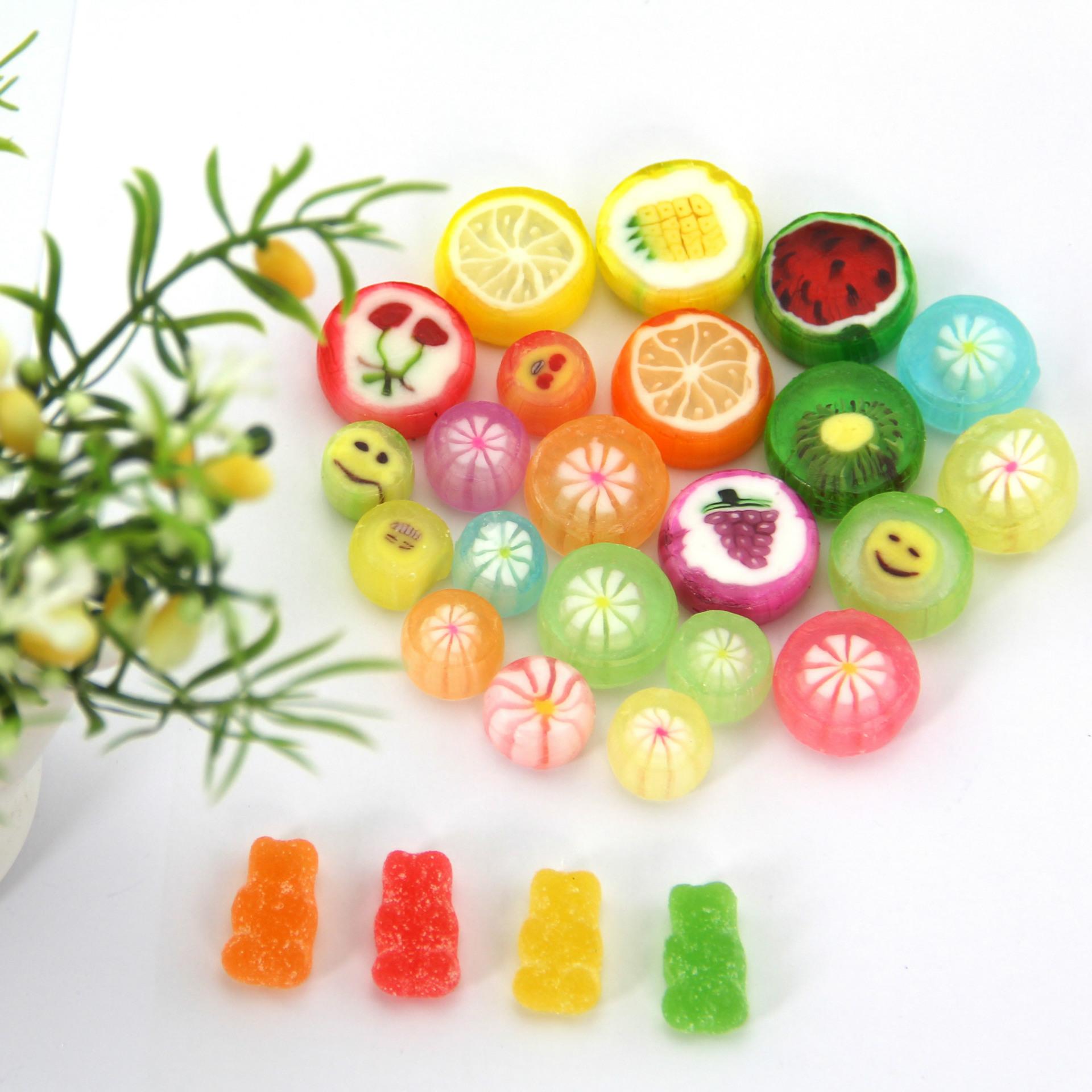 水果硬糖_4克水果硬糖 散裝切片硬糖果硬糖創意手工糖婚慶 - 阿里巴巴