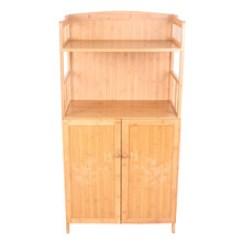 Bamboo Kitchen Cabinets Design Ideas For Small Kitchens 福建整体橱柜 福建整体橱柜品牌 图片 价格 福建整体橱柜批发 阿里巴巴 厂家直销竹制家具四层橱柜多层双开门柜整体厨房厨