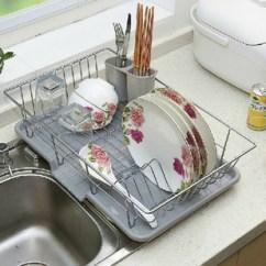 Kitchen Wire Rack Ikea Kitchens Cabinets 厨房铁线架图片 厨房铁线架图片大全 阿里巴巴海量精选高清图片 单层铁线碗碟架金属不锈钢厨房置物架碗筷餐具铁丝