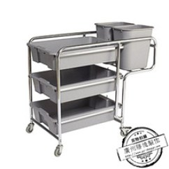 Kitchen Serving Cart Cabinet Refacing 厨房手推车 厨房手推车批发 促销价格 产地货源 阿里巴巴 酒店不锈钢三层手推服务车餐厅厨房餐盘收集车可拆