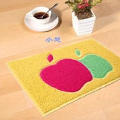 Apple Kitchen Rugs Outdoor With Green Egg 用布做地毯 用布做地毯价格 图片 品牌 用布做地毯批发 厂家 阿里巴巴 苹果地垫浴室厨房防滑垫 进门地毯卧室脚垫新款上市pvc