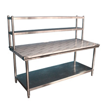kitchen desk cabinets painting ideas 厨房桌子 厨房桌子批发 促销价格 产地货源 阿里巴巴 立架不锈钢工作台组装桌子操作台厨房设备奶茶料理台打包台