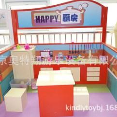 Childrens Play Kitchen Install Backsplash 儿童乐园场景体验馆职业角色扮演区虚拟儿童厨房 阿里巴巴