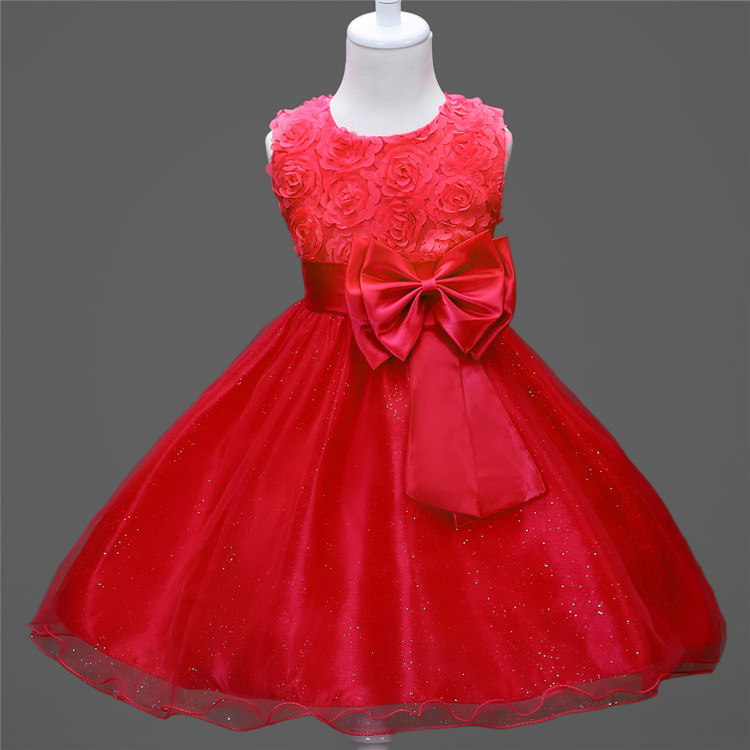 3051021651 1237798930 1-14 yrs teenagers Girls Dress Wedding Party Princess Christmas Dresse for girl Party Costume Kids Cotton Party girls Clothing