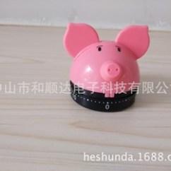 Pig Kitchen Redo 猪厨房计时器图片 猪厨房计时器图片大全 阿里巴巴海量精选高清图片 平底猪定时器卡通动物计时器倒计时60分钟厨房定时器