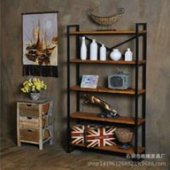 Kitchen Bookshelf Tables For Small Kitchens 厨房书架 厨房书架价格 优质厨房书架批发 采购 阿里巴巴 书房铁艺简易书架美式复古做旧陈列架实木隔板厨房收纳置物