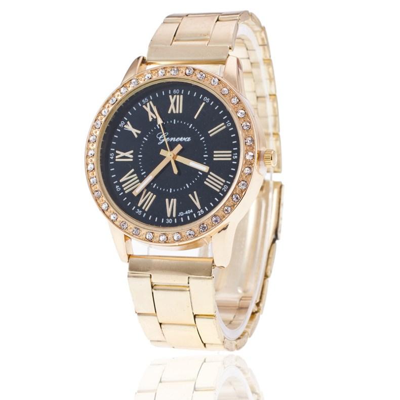 Mode femmes montres genève classique femmes diamant or montre-bracelet dames montre robe horloge relogio masculino reloj mujer
