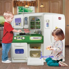 American Plastic Toys Custom Kitchen Lowes Remodel Cost Step2玩具 Step2玩具价格 Step2玩具批发 采购 阿里巴巴 美国原装进口step2时尚整体厨房儿童过家家玩具仿真厨房玩具7917