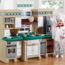 american plastic toys custom kitchen mat 美国step2 美国step2批发 促销价格 产地货源 阿里巴巴 美国进口玩具step2角色扮演过家家厨房豪华厨房724800