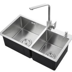 Square Kitchen Sink Macys Table 不锈钢水槽_厂家直供手工水槽304厚板不锈钢水槽双槽台上不锈钢 ...