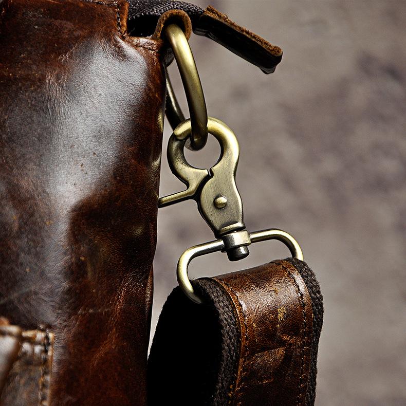 "4191749451 2068518898 Men Genuine Leather Office Maletas Business Briefcase 15.6"" Laptop Case Attache Portfolio Bag Maletin Messenger Bag B260"