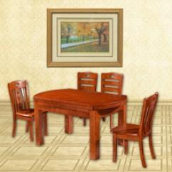 Oak Kitchen Chairs American Standard Faucet Repair 实木厨房桌椅 实木厨房桌椅价格 优质实木厨房桌椅批发 采购 阿里巴巴 实木餐桌厂家批发实木橡木餐桌椅合铁轨跳台圆方两用