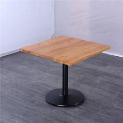 Metal Kitchen Tables Miami Cabinets 单脚餐桌桌 单脚餐桌桌批发 促销价格 产地货源 阿里巴巴 铁艺方形实木餐桌金属圆形单脚橡胶木桌子中式餐厅饭店餐桌