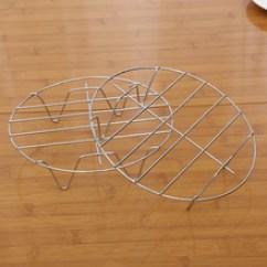 Kitchen Wire Rack Floating Island 不锈钢线架 不锈钢线架批发 促销价格 产地货源 阿里巴巴 两元店圆形单层蒸架四脚架线架多用架