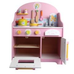 Wood Kitchen Playsets Faucet Filter System 木制厨房玩具图片 海量高清木制厨房玩具图片大全 阿里巴巴 幼乐比日式可爱粉色厨房木制儿童过家家仿真早教