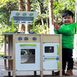 kids wooden kitchen cheap used cabinets 木制厨房过家家玩具 木制厨房过家家玩具价格 优质木制厨房过家家玩具批发 儿童木制厨房玩具过家家做饭煮饭仿真套装幼儿园男女