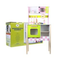 Childrens Play Kitchen Blender 儿童游乐场图片 儿童游乐场图片品牌 图片 价格 儿童游乐场图片批发 儿童仿真欧式厨房d款木制过家家做饭玩具套装幼儿园