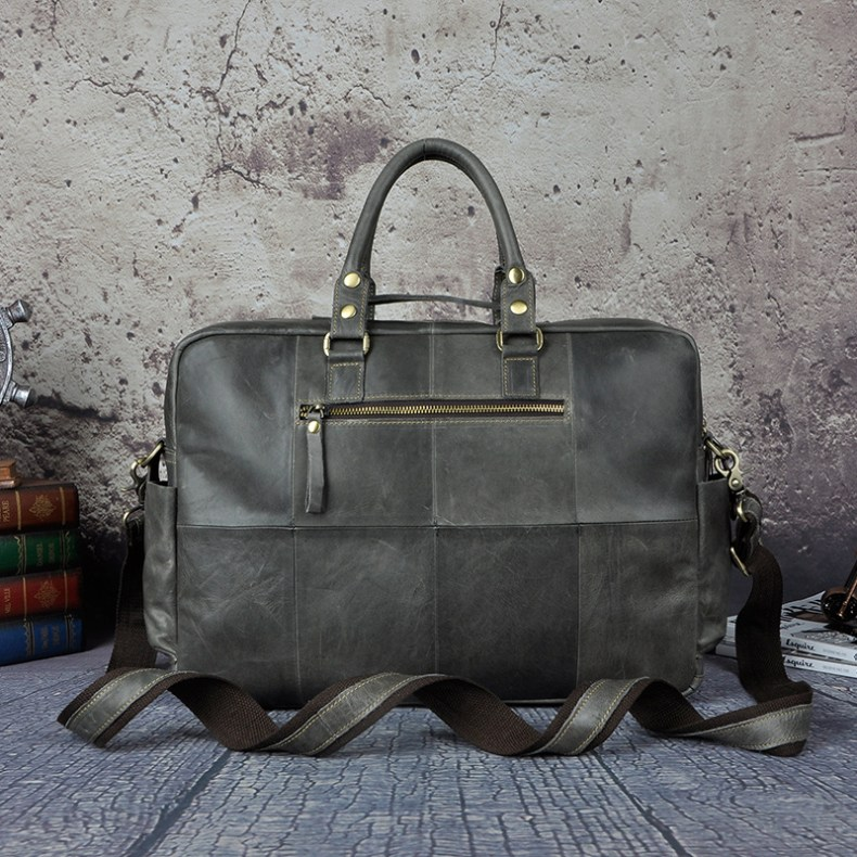 6993165154 2068518898 Original leather Men Fashion Handbag Business Briefcase Commercia Document Laptop Case Design Male Attache Portfolio Bag 3061-bu