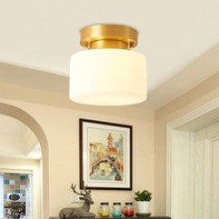 Kitchen Pendant Light Fixtures Cabinets Omaha 厨房灯具 厨房灯具批发 促销价格 产地货源 阿里巴巴 美式全铜吸顶灯简约入户过道灯走廊玄关厨房卫生间阳台衣帽间