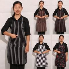 Kitchen Aprons Oak Cabinet Doors 服务员围裙 挂脖可调节围裙厨房围裙服务员餐厅厨师围裙围腰 阿里巴巴 厨房围裙