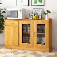Storage Cabinets Kitchen Tool Holder 厨房储物柜 厨房储物柜批发 促销价格 产地货源 阿里巴巴 餐边柜厨房橱柜简易中式碗柜客厅储物柜茶水柜厨房