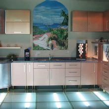 acrylic kitchen cabinets table centerpiece 亚克力厨柜 亚克力厨柜批发 促销价格 产地货源 阿里巴巴 整体橱柜亚克力高光模珩石柜体现代时尚厨房橱柜定制整体厨房