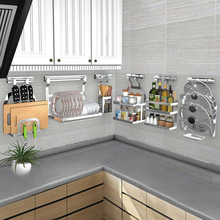 speed racks for kitchen faucets bronze 厨房墙上置物架 厨房墙上置物架批发 促销价格 产地货源 阿里巴巴 不锈钢厨房置物架壁挂锅盖架筷子碗碟收纳架调味调料架