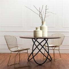 Kitchen Tables Round Counter 圆环桌椅 圆环桌椅批发 促销价格 产地货源 阿里巴巴 北欧实木奶茶店圆桌创意铁艺圆环客厅洽谈茶几私人厨房餐厅桌子