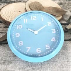 Blue Kitchen Wall Clocks Cabinets St Louis 磁铁挂钟 磁铁挂钟价格 优质磁铁挂钟批发 采购 阿里巴巴 简约蓝色超薄贴钟磁铁冰箱贴厨房抽油烟机挂钟家居