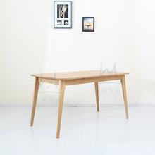 oak kitchen table sink with side drain board 厨房餐桌 厨房餐桌品牌 图片 价格 厨房餐桌批发 阿里巴巴 厨房家具全实木白橡木餐桌现代简约的风格适合咖啡厅奶茶店