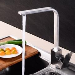 Kitchen Pull Down Faucet Decorating Kitchens 不锈钢龙头配件 不锈钢龙头配件价格 不锈钢龙头配件批发 采购 阿里巴巴 304不锈钢厨房冷热水龙头方形可旋转洗菜盆水槽混水阀